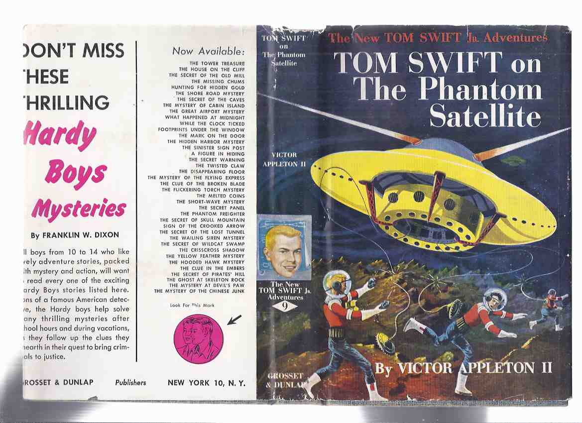 Image for The New Tom Swift Junior Adventures, Book No. 9: Tom Swift on the Phantom Satellite ( Volume Nine )