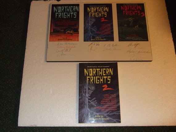 Image for Northern Frights Volume 2 -with NORTHERN FRIGHTS Signed PRINT (inc. Punkins; Sometimes in the Rain; The Eddies; The Polargeists; Mouthful of Pins; Vanishing Point; Code of the Poodles; Feast of Ghosts, etc)