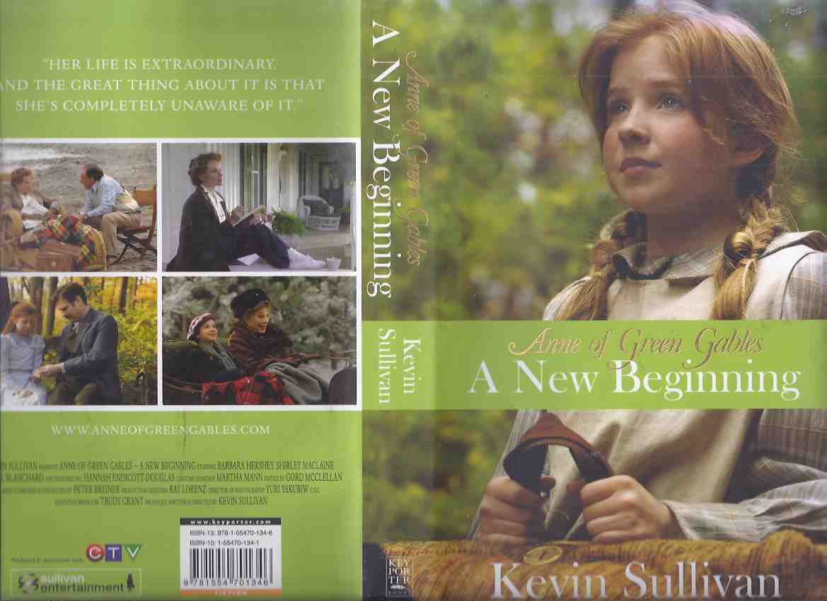 Image for Anne of Green Gables: A New Beginning - By Kevin Sullivan -a Signed Copy