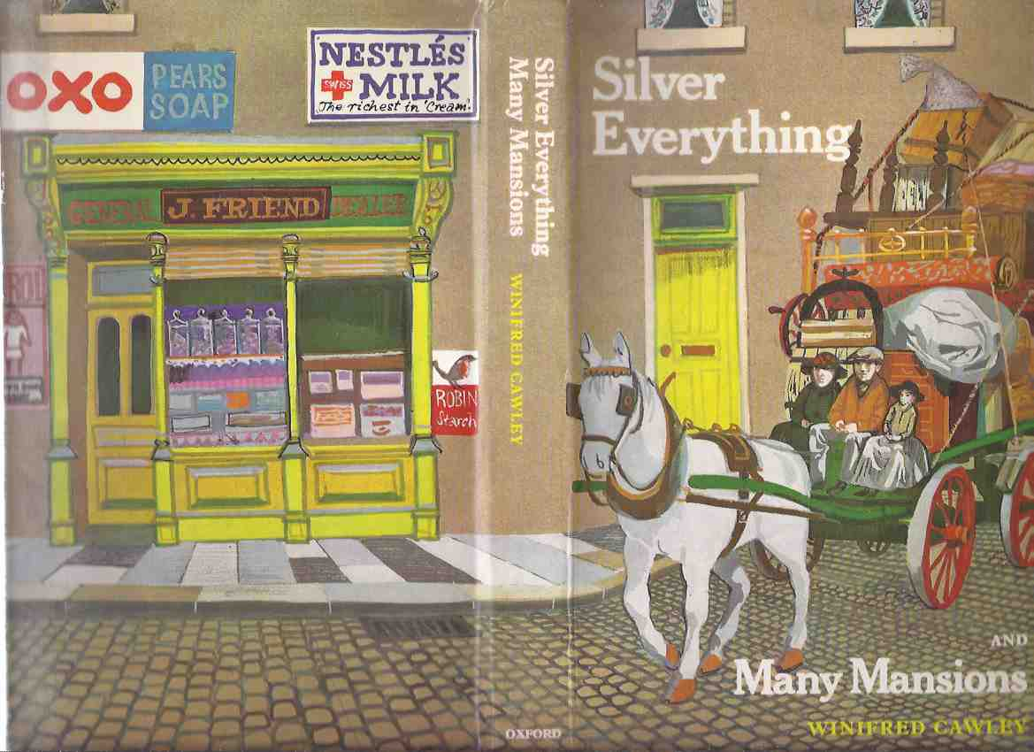 Image for Silver Everything and Many Mansions -by Winifred Cawley, Illustrated by William Stobbs (includes a Glossary )(set in Tyneside in the 1920's )