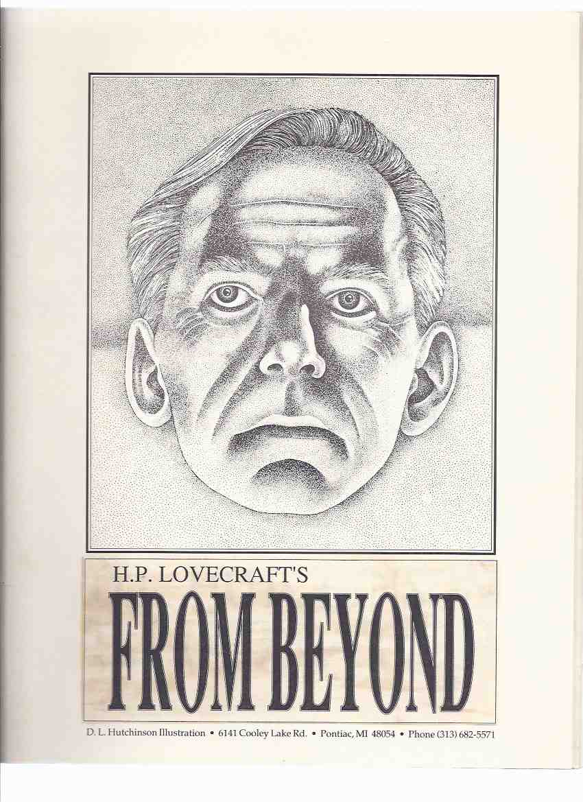 Image for H P Lovecraft's FROM BEYOND:  Illustration D L Hutchinson ( an Illustrated Edition of FROM BEYOND By Howard Phillips Lovecraft )( Signed By the Illustrator )