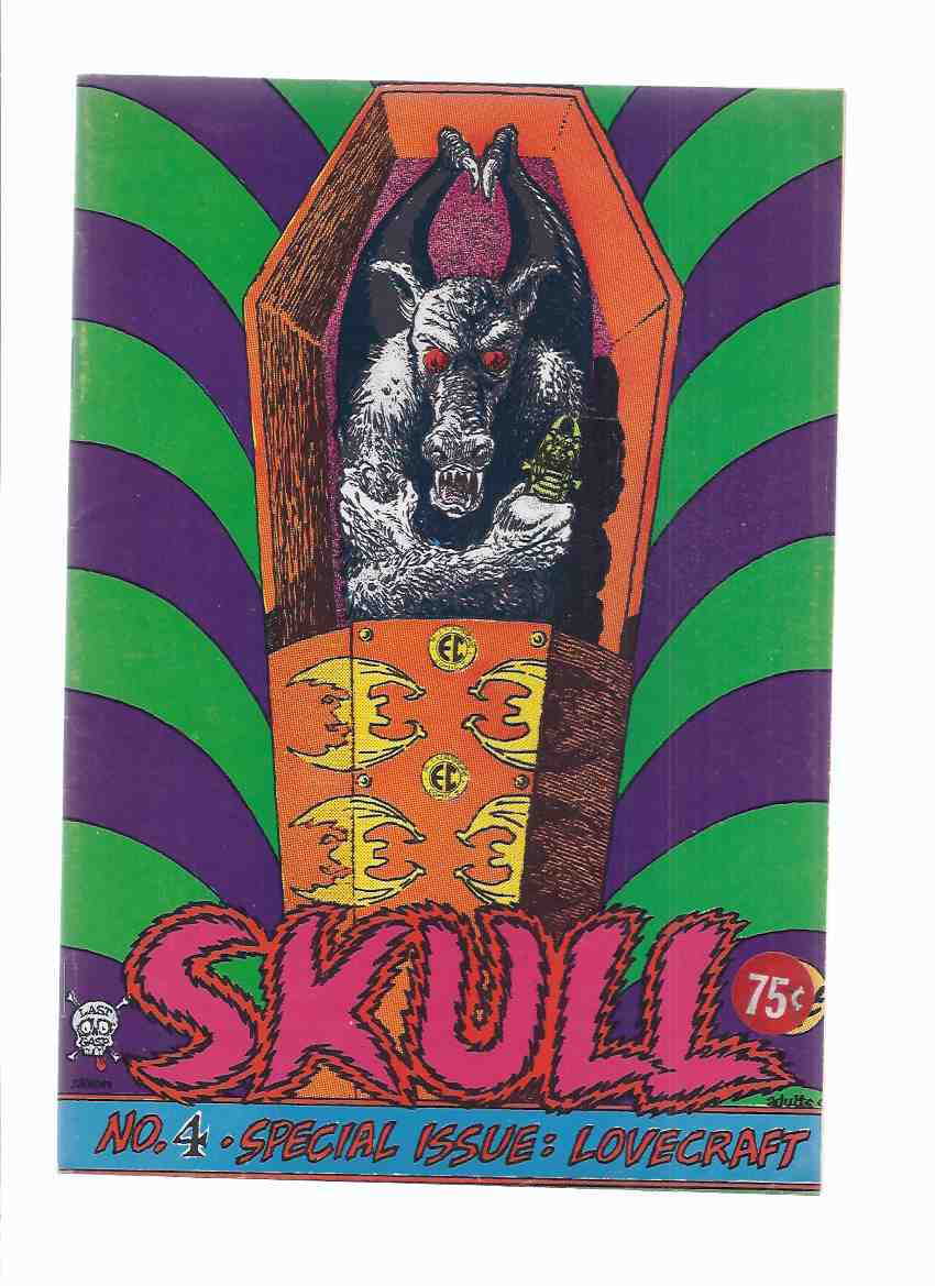 Image for SKULL Comics # 4 - SPECIAL ISSUE - H P LOVECRAFT (inc.  The Hound; Pickman's Model; Cool Air; The Hairy Claw of Tolen )