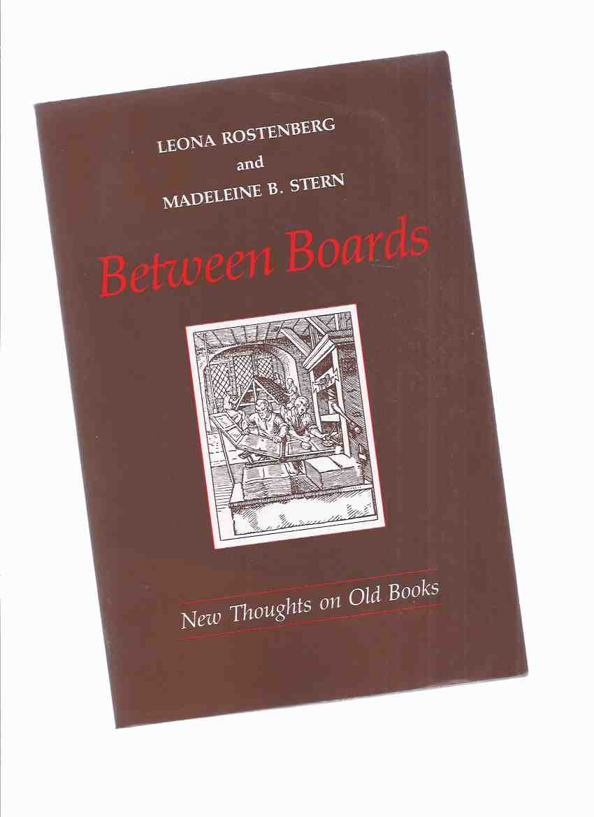 Image for Between Boards:  New Thoughts on Old Books ( Bookseller Memoir )