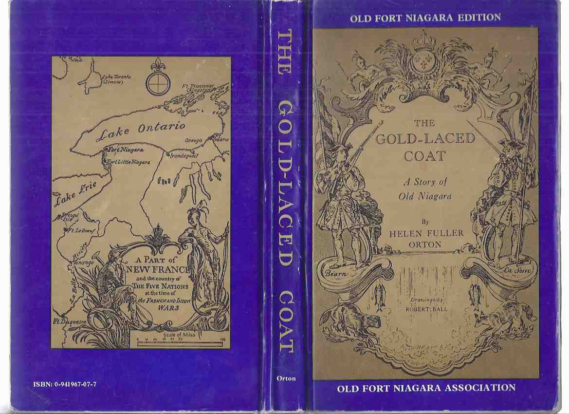 Image for The Gold-Laced Coat: A Story of Old Niagara -by Helen Fuller Orton / Old Fort Niagara Association