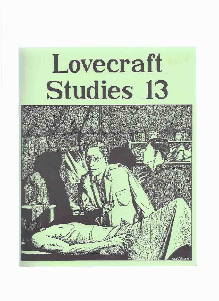 Image for Necronomicon Press: Lovecraft Studies 13, Vol. 5 # 2, Fall 1986 ( Volume Thirteen )( In Search of Arkham Country; Correspondence Between R H Barlow and Wilson Shepherd; Who Needs the Cthulhu Mythos; HPL and Chiasmus, Chiasmus and HPL; Reviews )