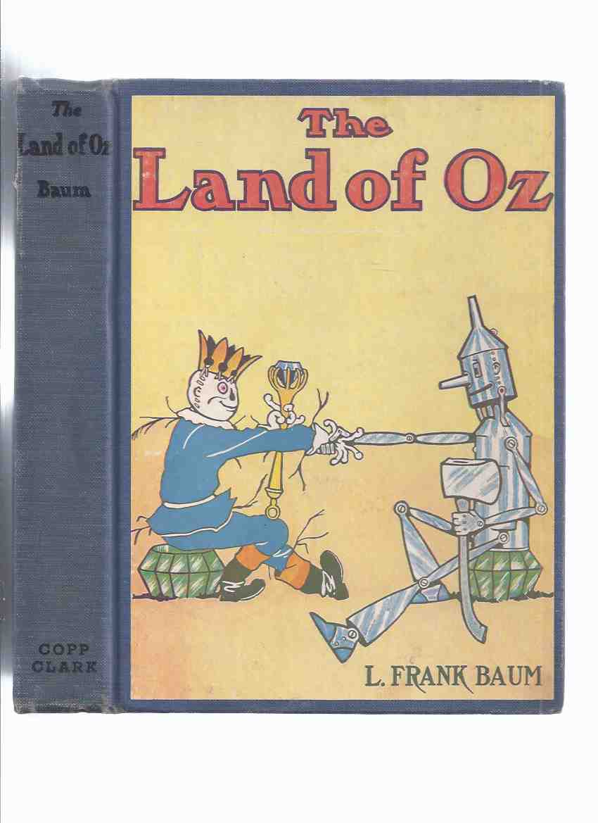 Image for The Land of OZ -by L Frank Baum (aka: The Marvelous Land of Oz )( 1st Canadian Edition )