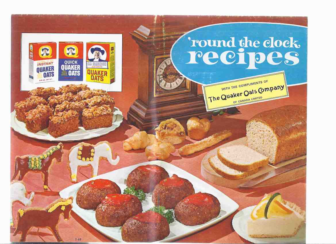 Image for 'Round the Clock Recipes, with the Compliments of The Quaker Oats Company of Canada Limited ( Cookbook / Cook Book )( Round / Around )