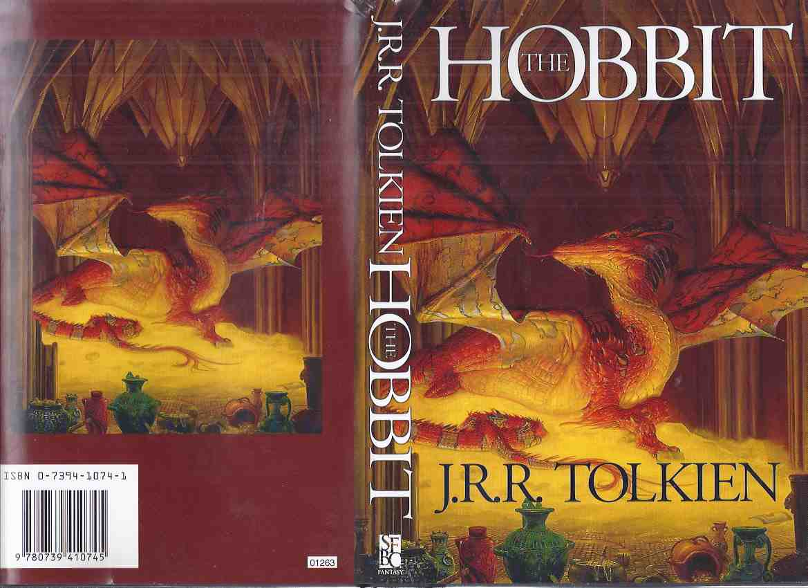 Image for The Hobbit or, There and Back Again -by J R R Tolkien ( Smaug Cover Art By Donato