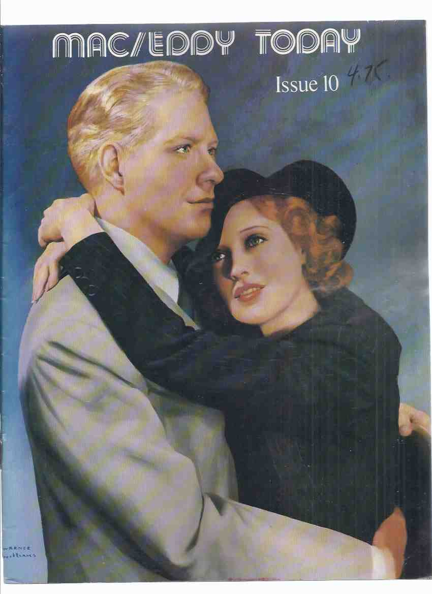 Image for Mac / Eddy Today: Jeanette MacDonald and Nelson Eddy  Friendship Club, Issue 10 - 3, # 2 1980 ( Fan Club Magazine )