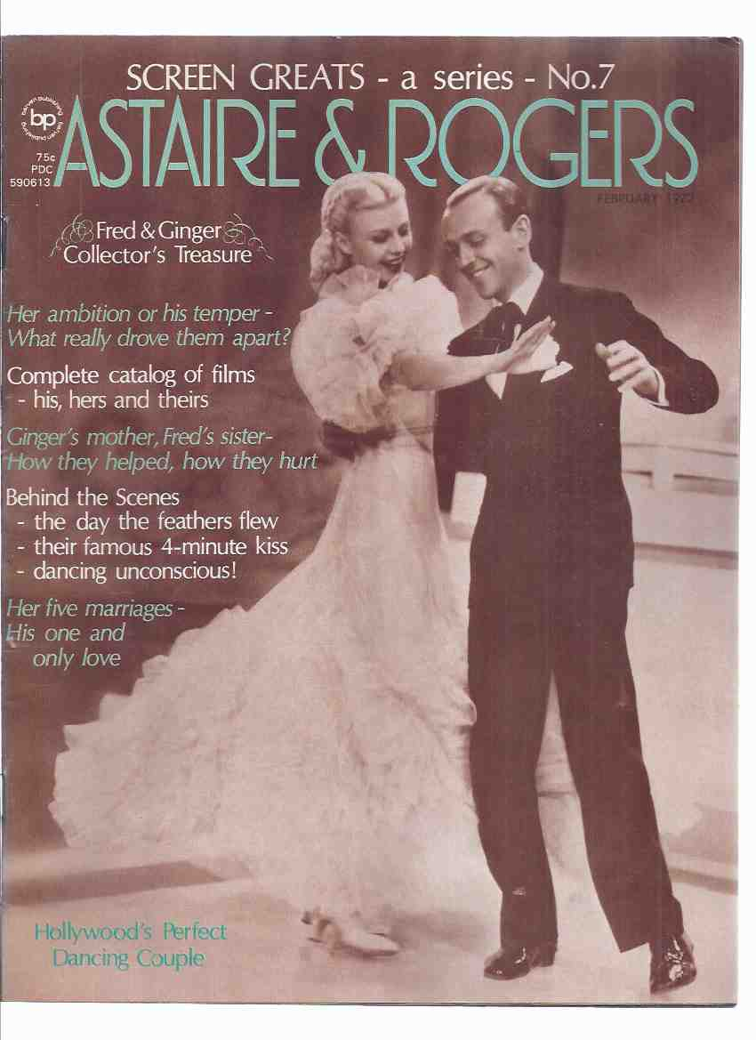 Screen Greats Series, Volume 1, No  7 - Fred Astaire - Ginger Rogers  Collector's Treasure / Issue (inc  articles about