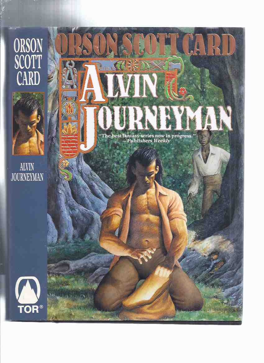 Image for Alvin Journeyman: The Tales of Alvin Maker Volume 4 -by Orson Scott Card -a Signed Copy ( Book Four / IV )