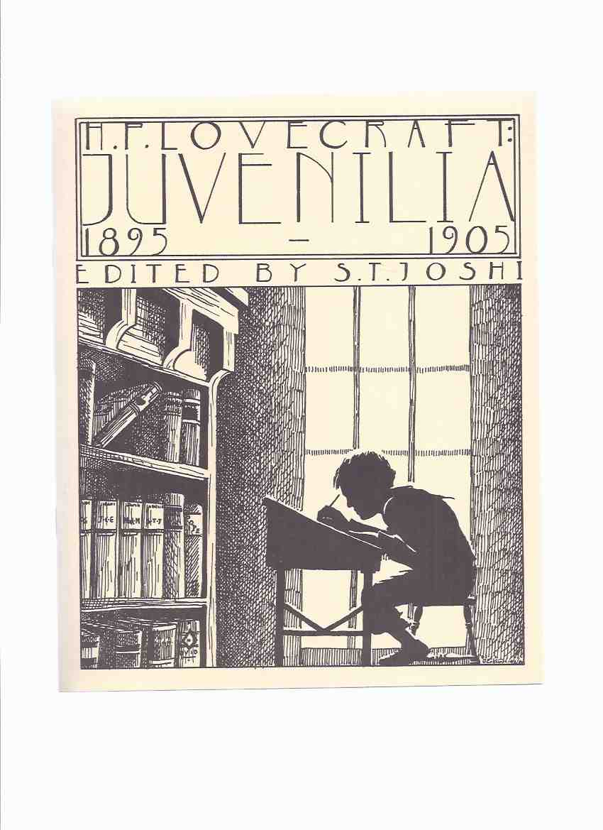 Image for H P Lovecraft Juvenilia 1895 - 1905  / Necronomicon Press ( H P Lovecraft )(inc. Little Glass Bottle; Poem of Ulysses; Ovid's Metamorphoses; The Secret Cave; Mystery of the Grave-Yard; etc)