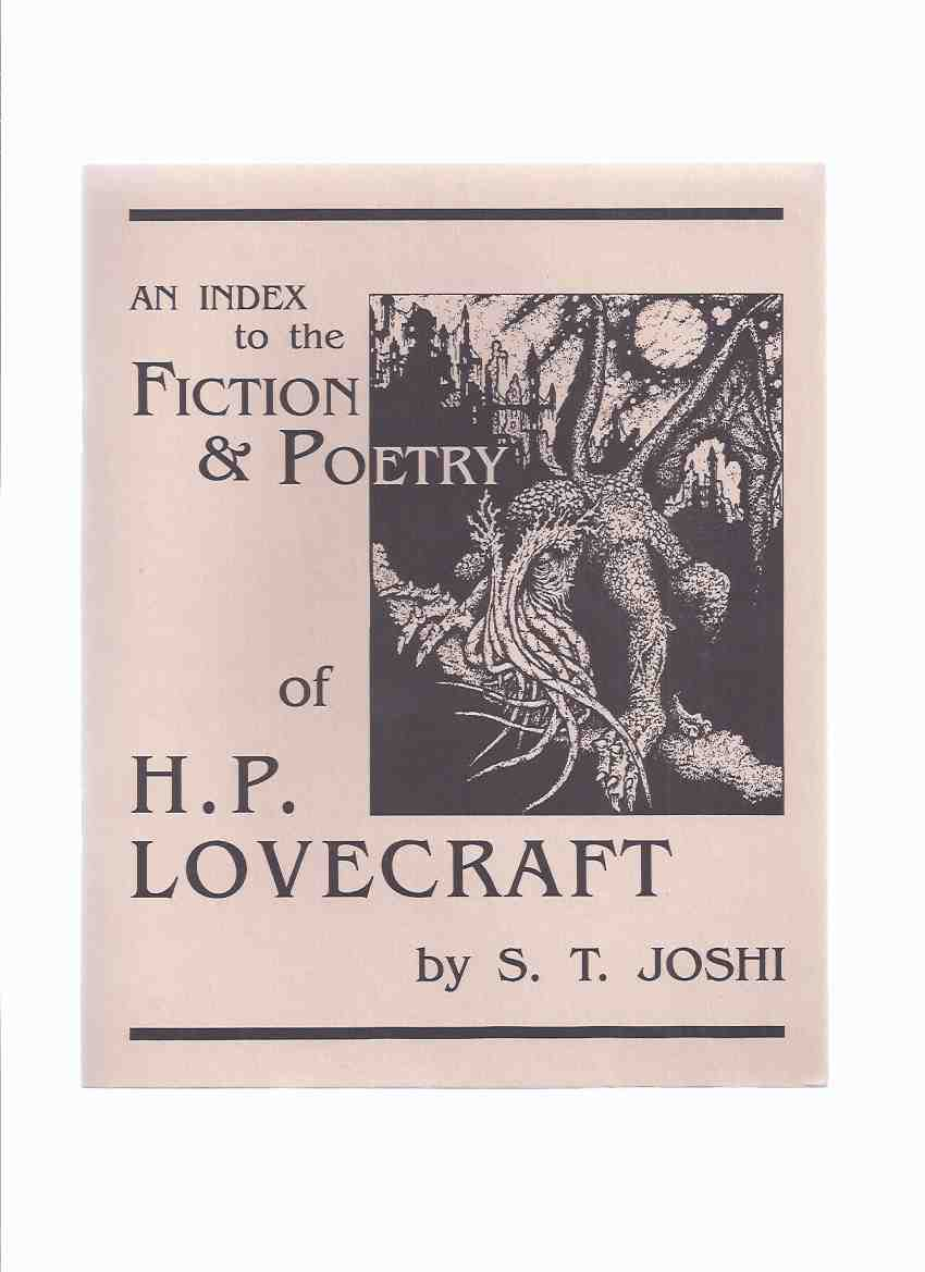 Image for An Index to the Fiction and Poetry of H P Lovecraft / Necronomicon Press ( H P Lovecraft )