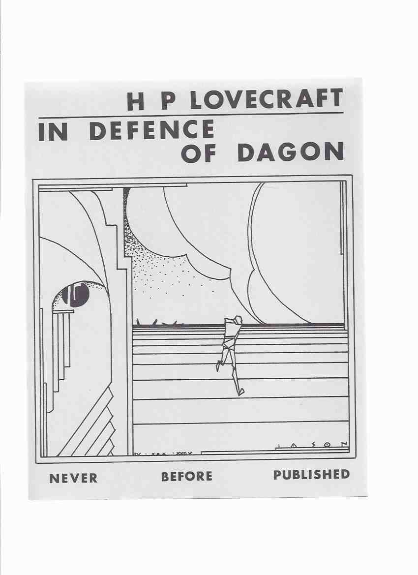 Image for H P Lovecraft: In Defence of Dagon / Necronomicon Press ( H P Lovecraft )