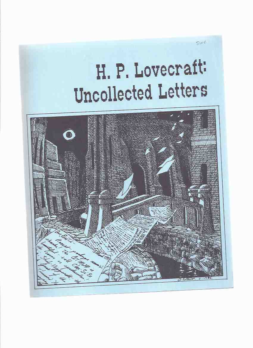 Image for H P Lovecraft:  Uncollected Letters / Necronomicon Press ( H P Lovecraft )
