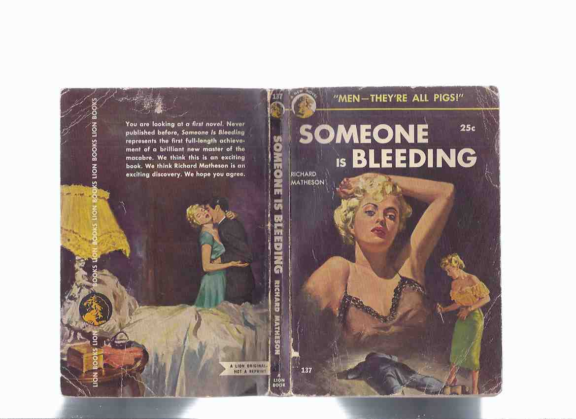 Image for Someone is Bleeding ---by Richard Matheson