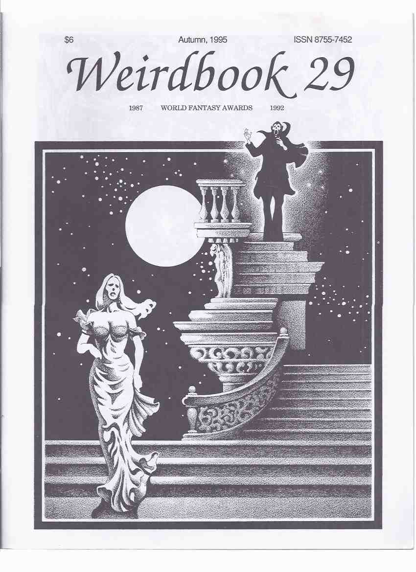 Image for Weirdbook 29, Autumn 1995 ( Weird Fiction and Poetry )) Book Twenty-Nine )( Foxes of Fascoum; Return of the Colossus; City Out of Time; Encounters with Terror; Cinderella Revisited; Homunculus; City Out of Time; And to Taste the Colour of Time, etc)