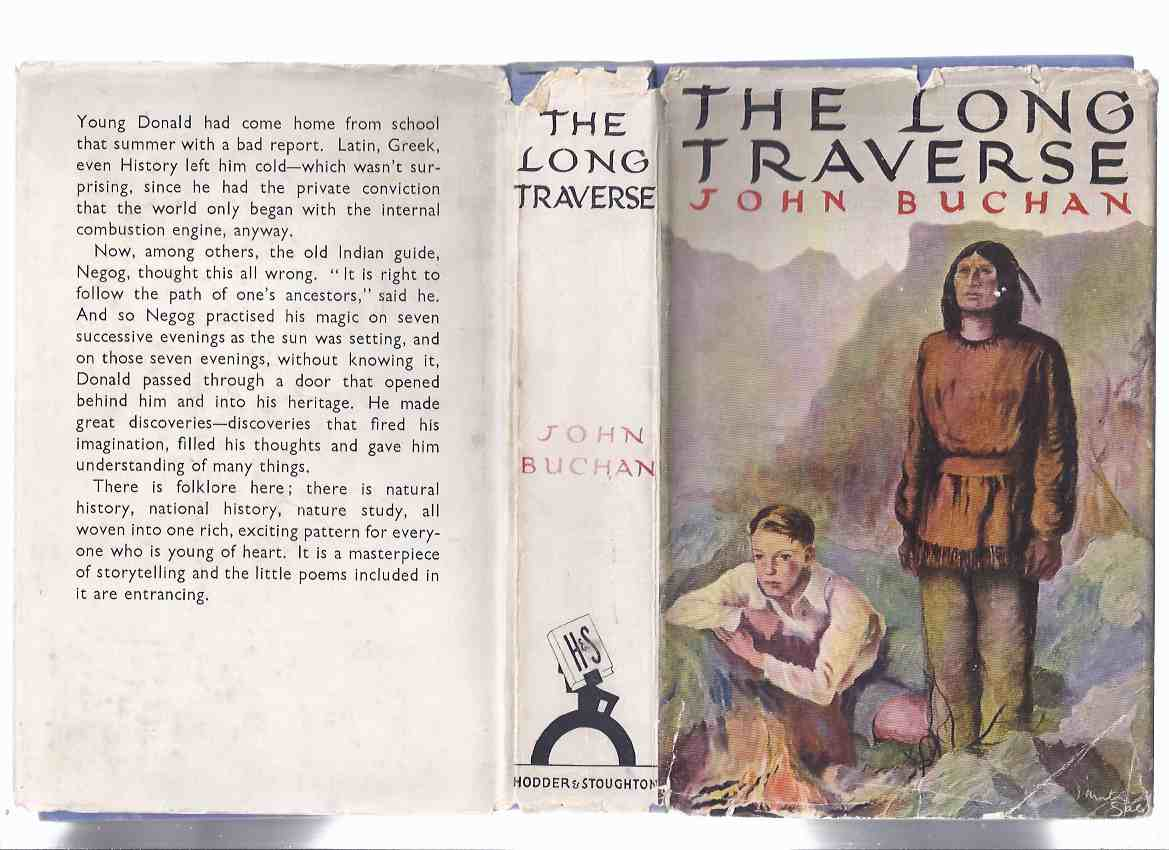 Image for The Long Traverse -by John Buchan ( 1st Edition in Dustjacket )