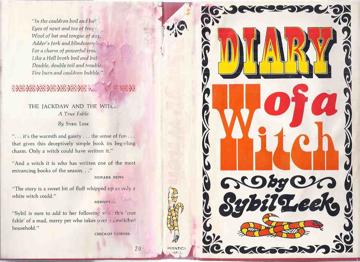 Image for Diary of a Witch:  Sybil Leek