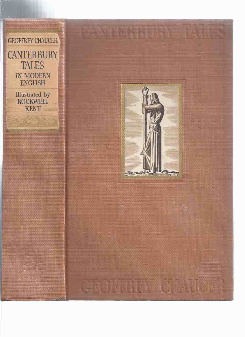 Image for GEOFFREY CHAUCER:  Canterbury Tales Rendered Into English By J U Nicolson with Illustrations By Rockwell Kent