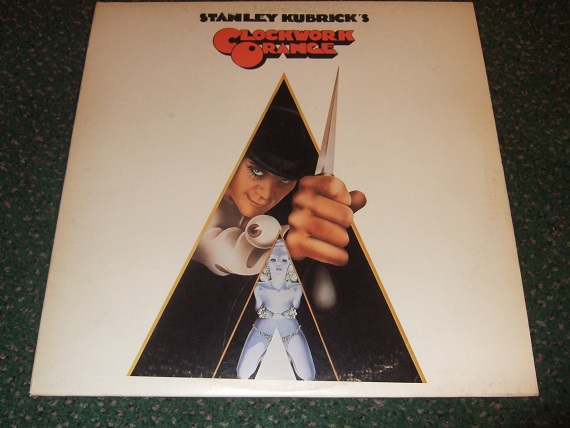 Image for Stanley Kubrick's A Clockwork Orange - LP / Album - Movie Tie-In  with Philip Castle Cover Art