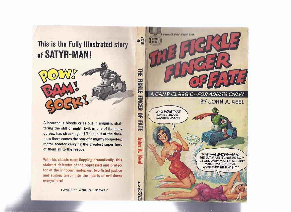 Image for The Fickle Finger of Fate -a Camp Classic - for Adults Only ---by John A Keel ( Satyr-Man )