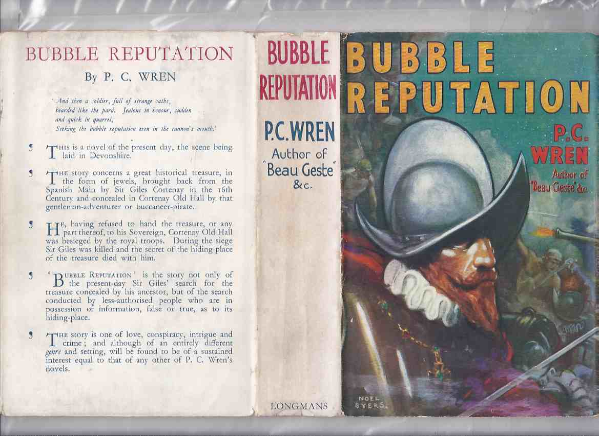 Image for Bubble Reputation ---by P C Wren (aka:  The Cortenay Treasure )