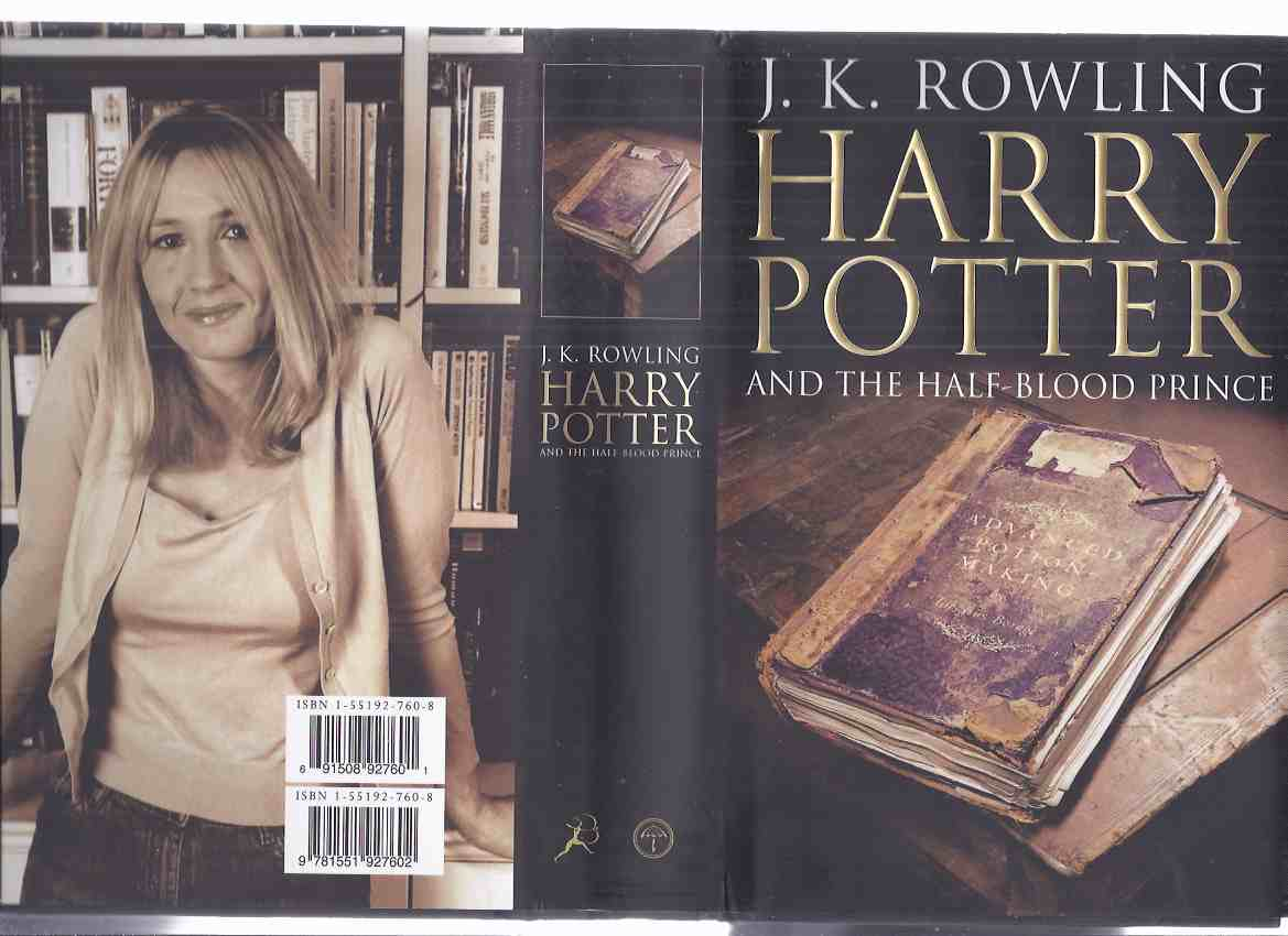 Image for Harry Potter and the Half-Blood Prince, Book 6 of the series -by J K Rowling  ( Volume Six / The Adult Version )
