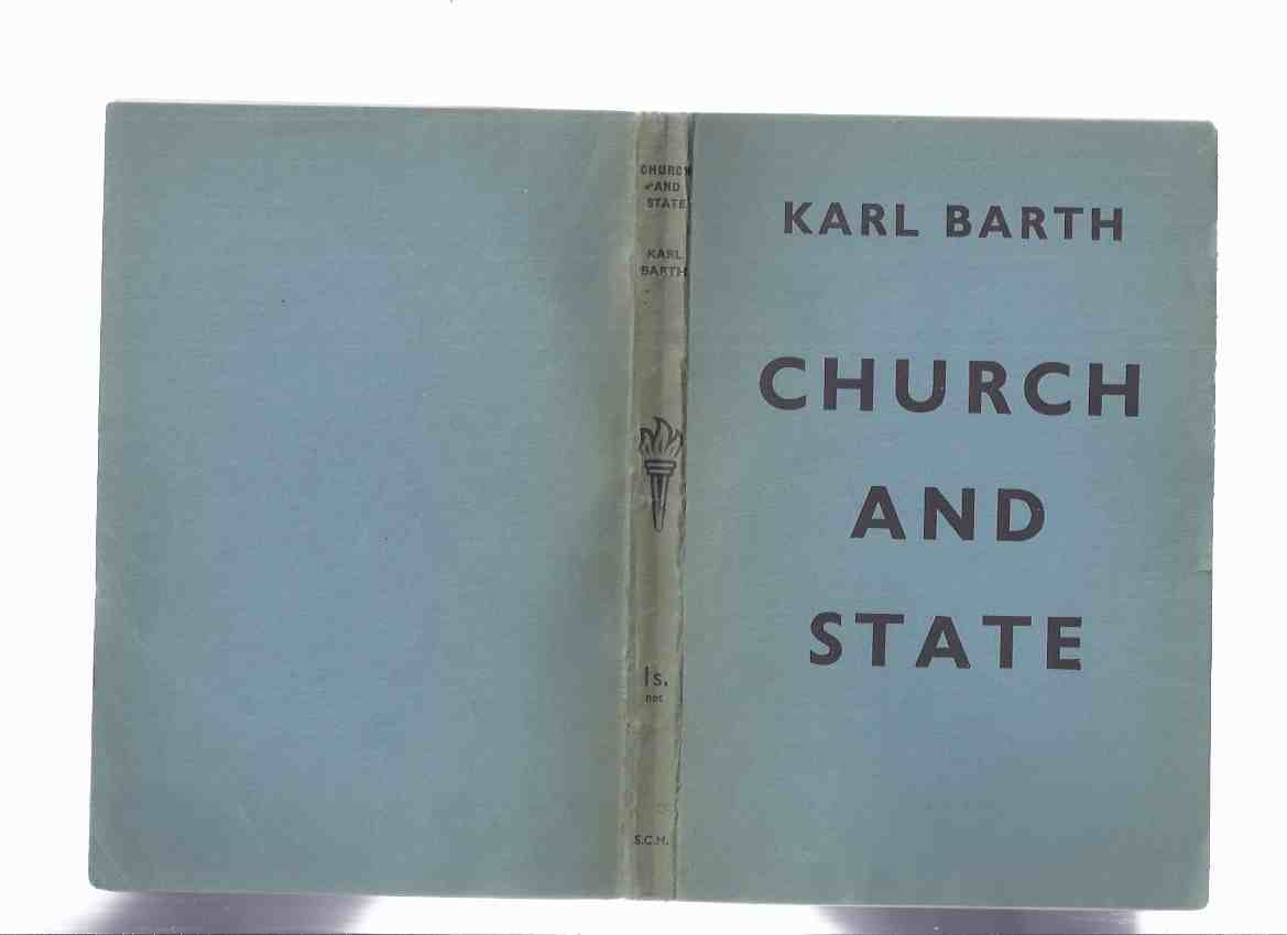 Image for Church and State -by Karl Barth ( English Translation of  Rechtfertigung und Recht. English )