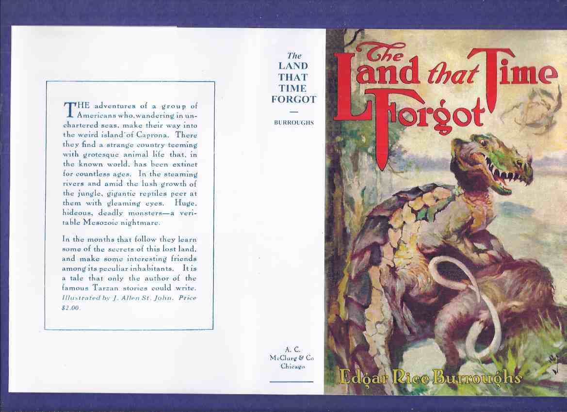 Image for The Land That Time Forgot -by Edgar Rice Burroughs