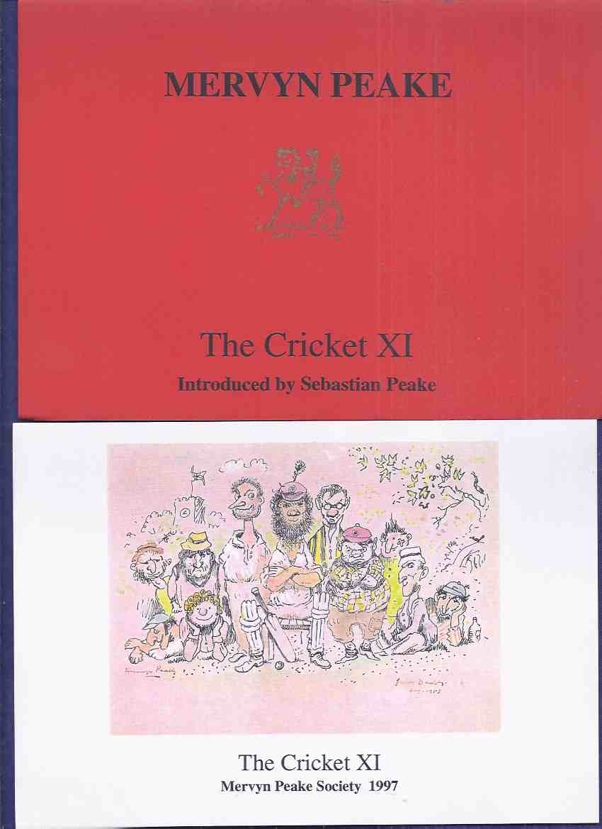Image for The Mervyn Peake Society / Review, No. 30, 1997 - THE CRICKET XI ( Illustration By Peake of a Cricket Team / Match )