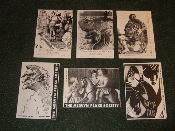 Image for 6 Issues of The Mervyn Peake  Society Newsletter, No. 42, 43, 44.45, 46, 54 / 1996, 1997, 1998, 2002