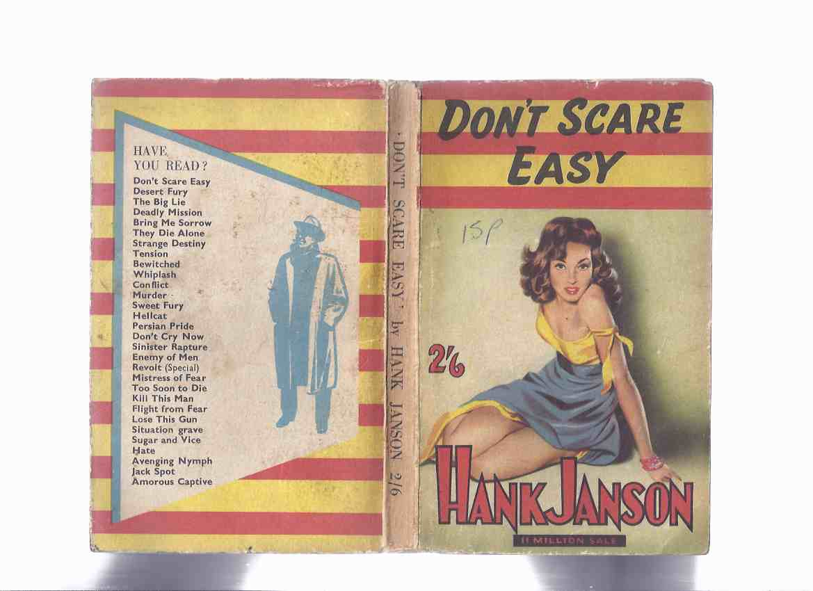 Image for Don't Scare Easy  -by Hank Janson (aka Broads Don't Scare Easy )