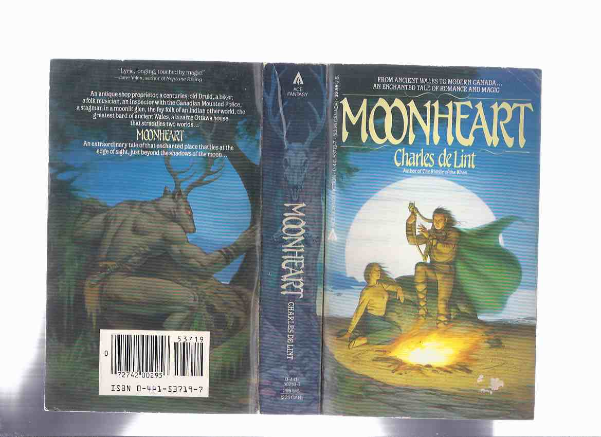 Image for Moonheart ---a signed Copy ---by Charles De Lint