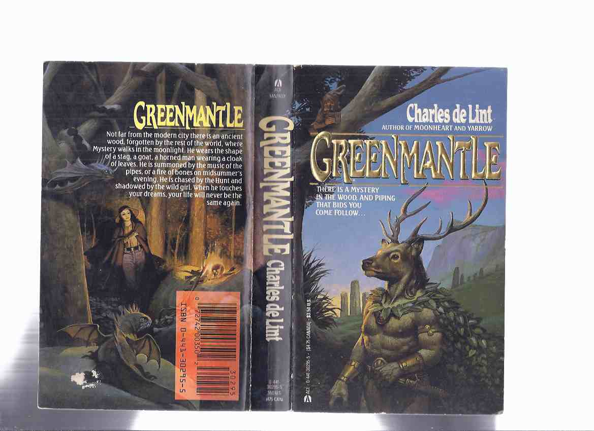 Image for Greenmantle ---a signed Copy ---by Charles De Lint