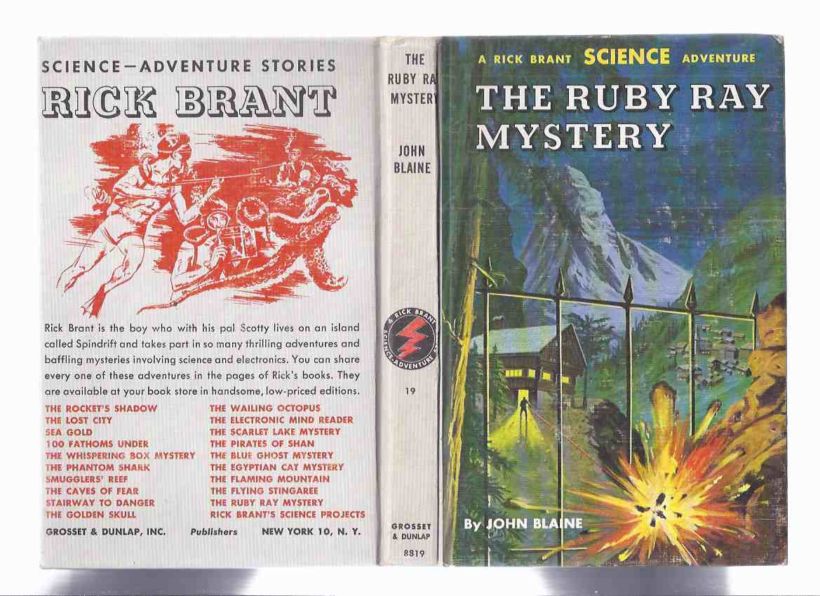 Image for The Ruby Ray Mystery: Rick Brant Science Adventure Story - Book No. 19 -by John Blaine ( Volume Nineteen )