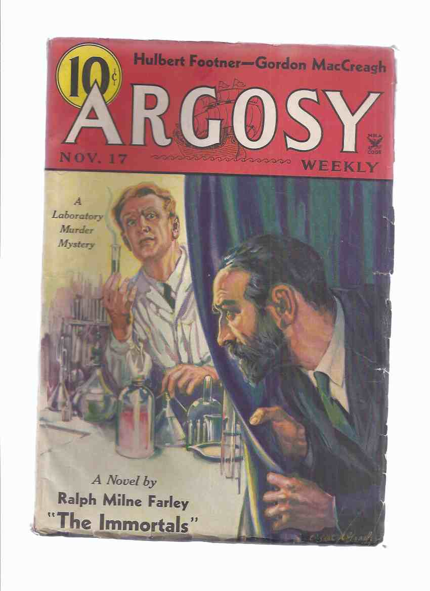 Image for Argosy Weekly Magazine ( Pulp ), November 17, 1934 (inc. The Immortals [part 1]; Scourge of the Rio Grande; Murders in the Hotel Cathay;  etc)
