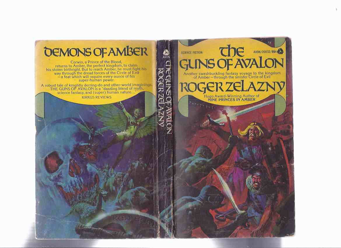 Image for The Guns of Avalon -an Amber Novel, Book 2 of the Series ---by Roger Zelazny  -a Signed Copy