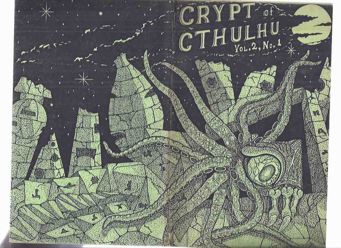 Image for Crypt of Cthulhu, Volume 2, # 1, Hallowmas 1982  (inc. Cthulhu and King Kong; Pickman's Gallery; The Real Father Dagon; etc)