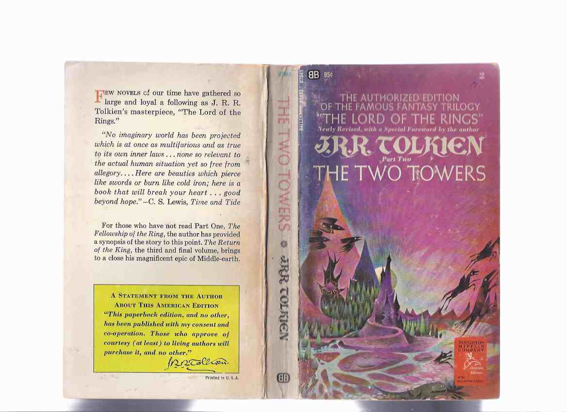 Image for The Two Towers, Book 2 of The Lord of the Rings Trilogy -by J R R Tolkien ( Volume Two )( Canadian Imprint )