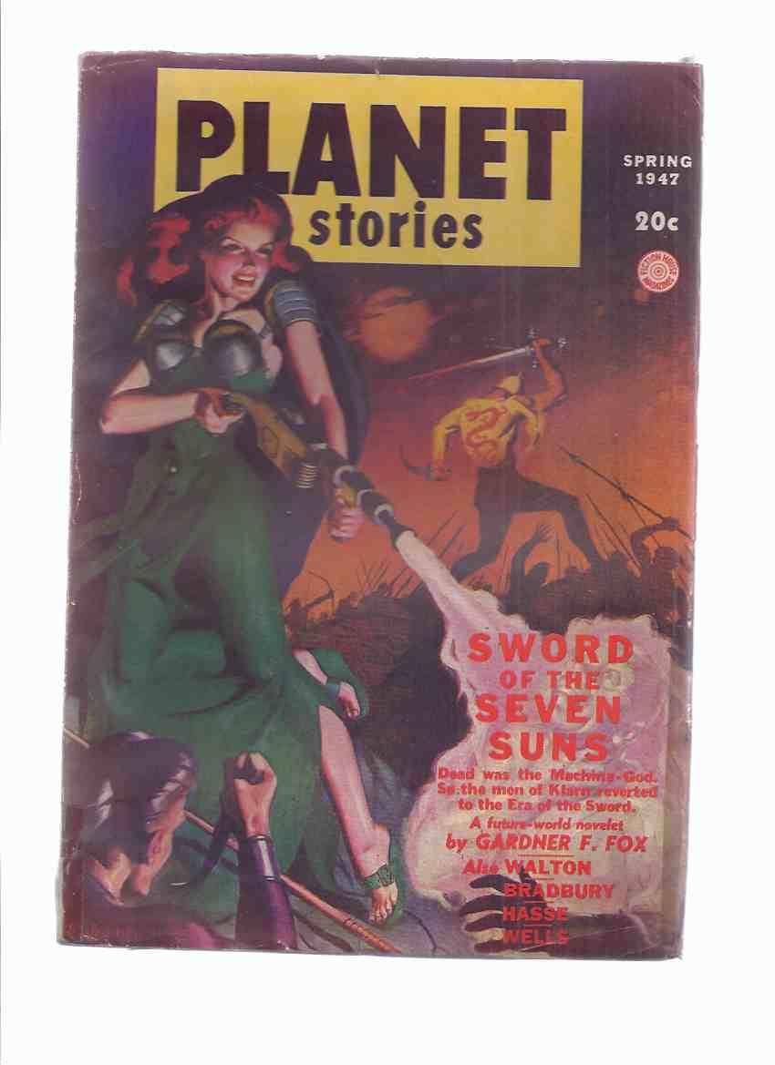 Planet Stories Dec-Feb 1946 - 1947 Volume III #  6 (inc. Beyond the Yellow Fog; Sword of the Seven Suns; Princess of Chaos; Distress Signal; Rocket Summer; Planet of Creation; Scrambled World; Final Glory; Atavism )( SF / Science Fiction Pulp Magazine )