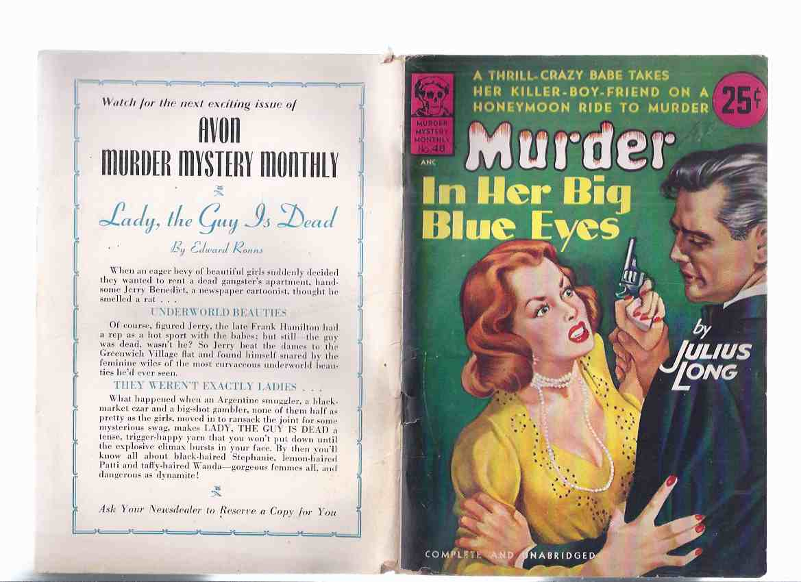 Image for Murder in Her Big Blue Eyes (aka Keep the Coffins Coming )/ Avon Murder Mystery Monthly # 48