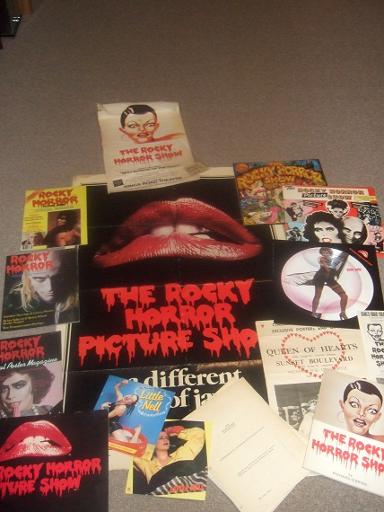 Image for The Rocky Horror Picture Show - Posters, Magazines, Record Albums, 45's, Calendar, Songbook with Sheet Music, Movie Script, Theatre Programs, Ephemera