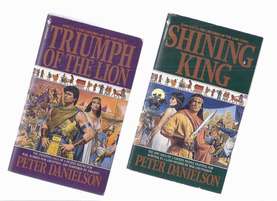 Image for The Shining King ---with Triumph of the Lion ---TWO VOLUMES ---Book  XVIII and XIX (  18, 19 ) in the Children of the Lion Series