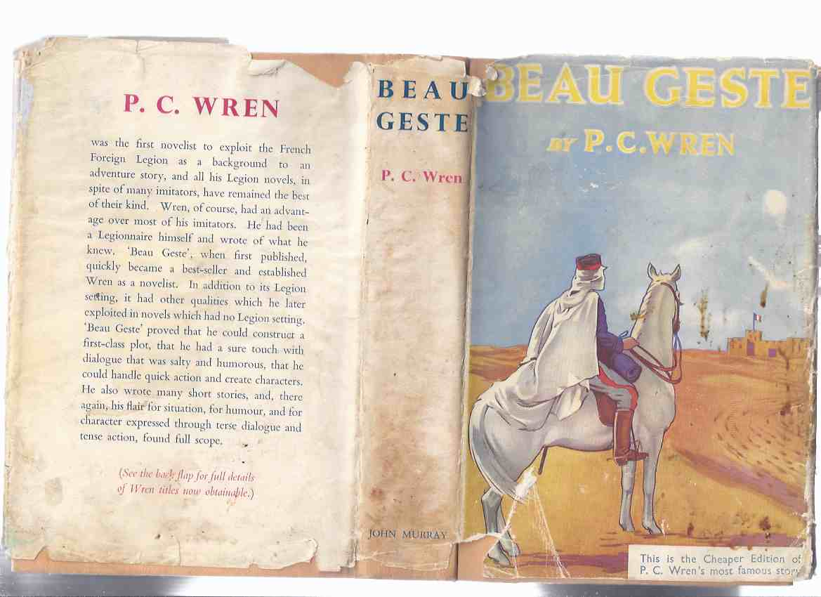 Image for Beau Geste   ---by P C Wren