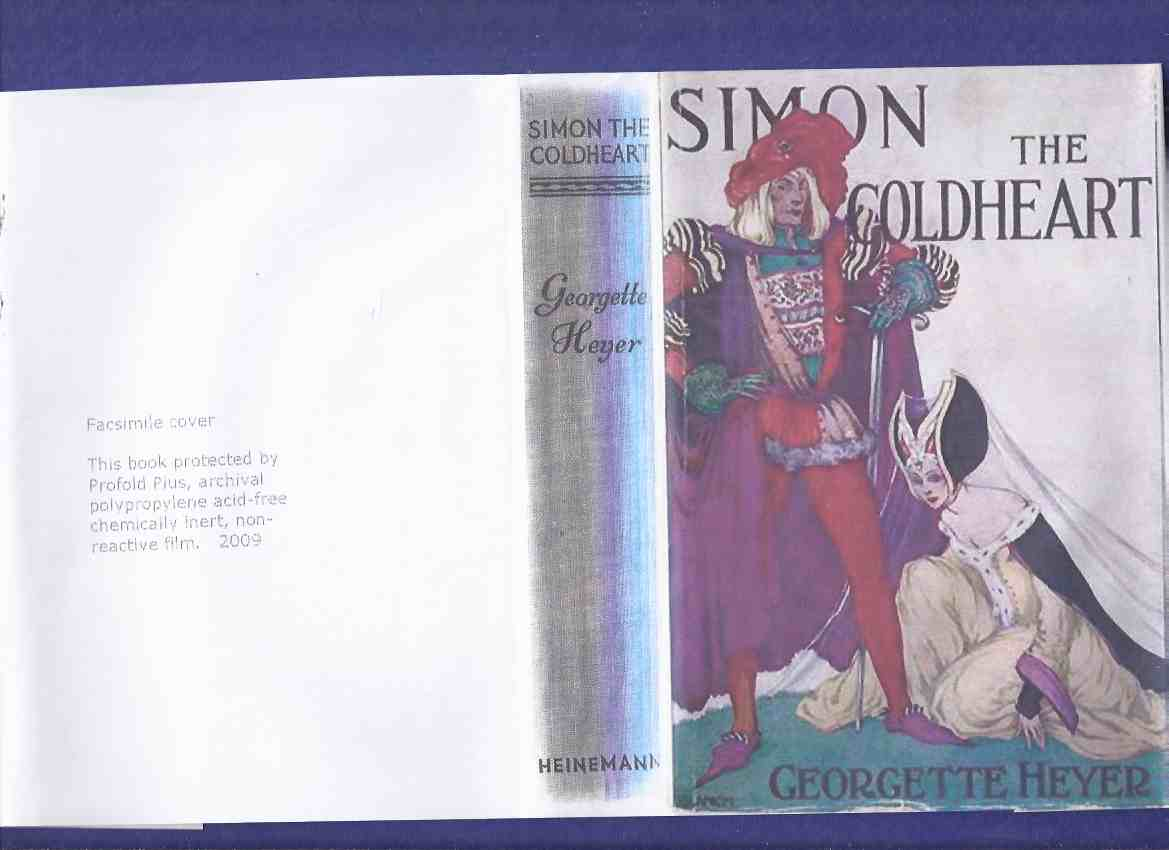 Image for Simon the Coldheart -by Georgette Heyer
