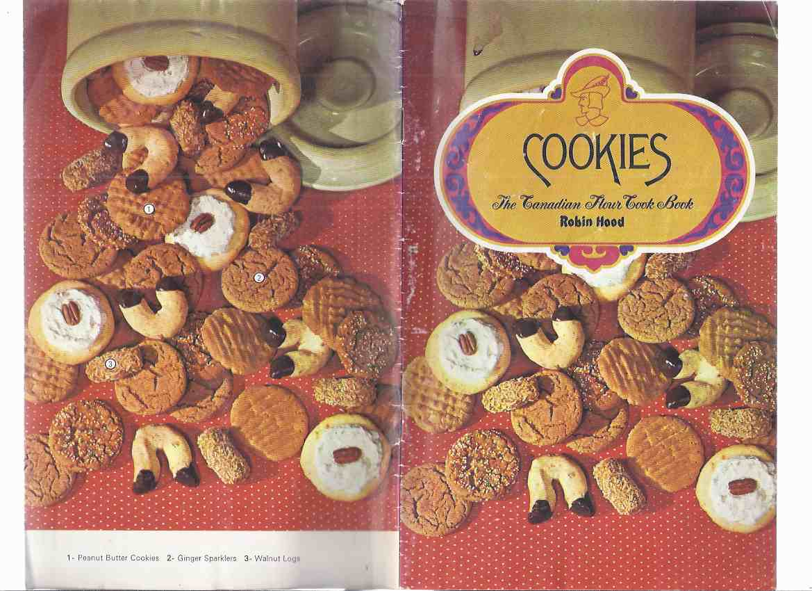Image for COOKIES:  The Canadian Flour Cook Book - Robin Hood / Robin Hood Flour Mills Limited ( Cookbook / Recipes / Baking (inc. Drop, Shaped, Rolled, Refrigerator Cookies, Bars & Squares; etc)