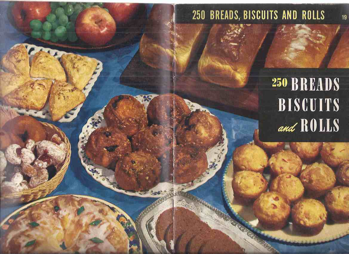 Image for 250 Breads, Biscuits and Rolls Cook Book -by Ruth Berolzheimer, Culinart Arts Institute ( Cookbook / Recipes / Baking )