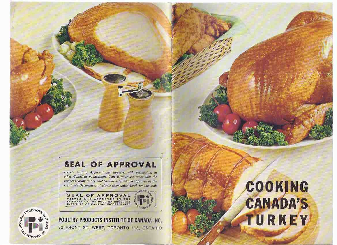 Image for Cooking Canada's Turkey / Poultry Products Institute of Canada ( Cookbook / Cook Book / Recipes )