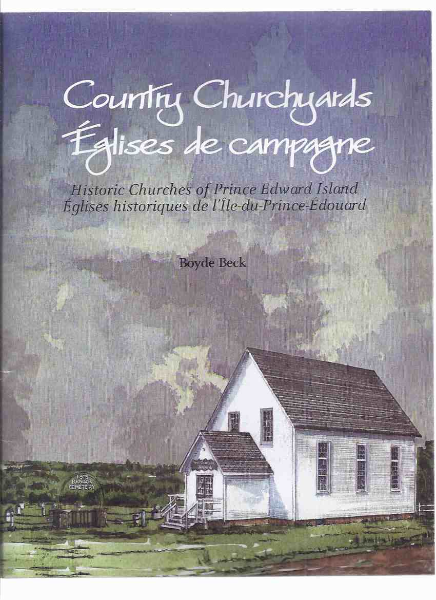 Image for Country Churchyards / Eglises De Campagne: Historic Churches of Prince Edward Island / Eglises Historiques De l'Ile Du Prince Edward ( English and French Text )( PEI / P.E.I. )( 6 Postcards Intact )( Post Cards )